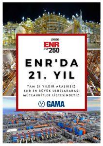ENR'da 21. Yıl